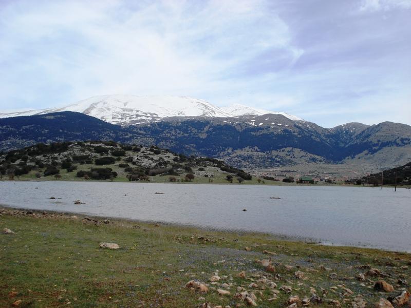 """Η εποχική λίμνη """"Πινιγούρα"""""""