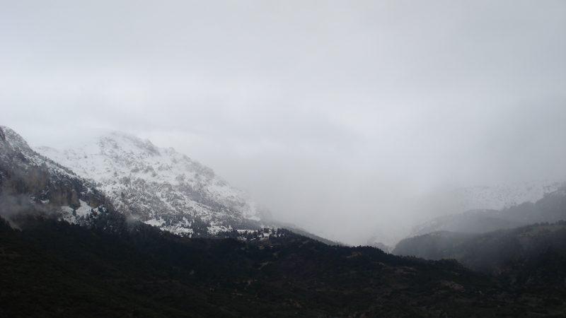 Ψυχρές εισβολές στην Αράχωβα και χιονοπτώσεις…